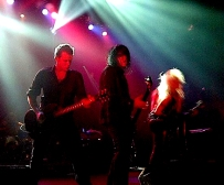With Nick Douglas and Doro in NYC, 2011