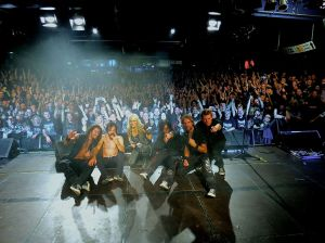 On Tour with Doro, October, 2013